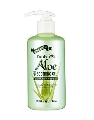 Ultra Moist Purity 99 Aloe Soothing Gel