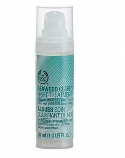 The Body Shop Seaweed Clarifying Night Treatment
