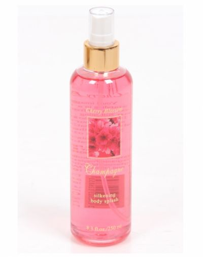 Champagne Cherry Blossom Silkening Body Splash