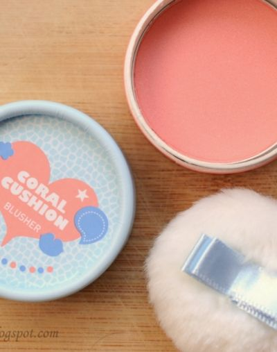 The Face Shop Lovely Me Ex Pastel Cushion Blusher