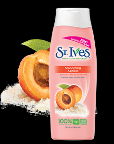 St. Ives Smoothing Apricot Body Wash