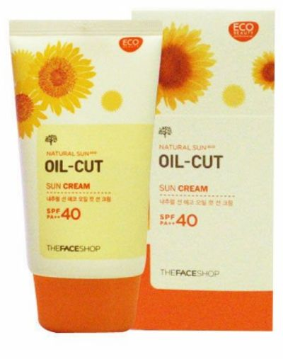 The Face Shop Oil Cut Sun Cream SPF40