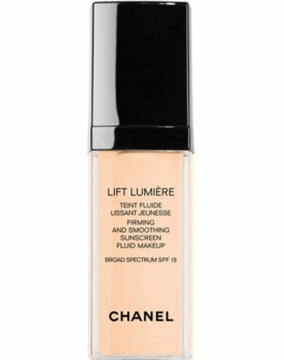 Chanel Lift Lumiere Firming and Smoothing Sunscreen Fluid Makeup Broad Spectrum SPF 15