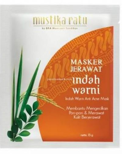 Masker Jerawat Indah Warni