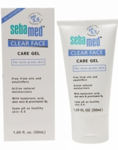 Clear Face Care Gel