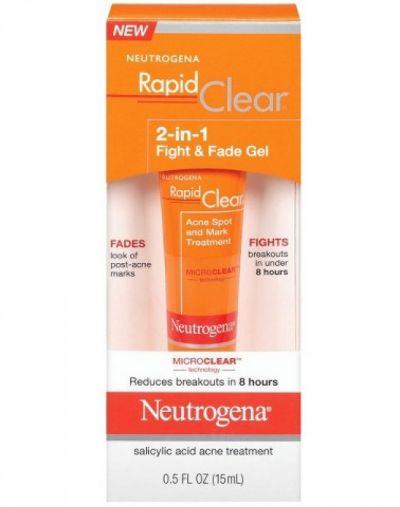 Neutrogena Rapid Clear 2-in-1 Fight and Fade Gel
