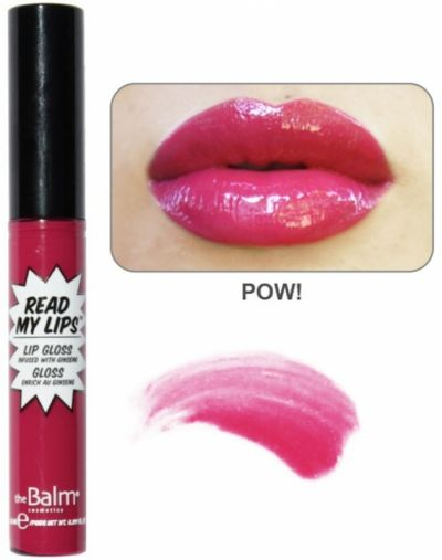 The Balm Read My Lips Lip Gloss
