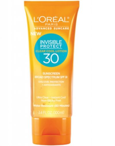 Advanced Suncare Invisible Protect Clear Cool Lotion SPF 50