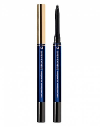 Missha Super Extreme Waterproof Soft Pencil Eyeliner (Auto)
