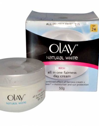 Natural White Rich All in One Fairness Day Cream