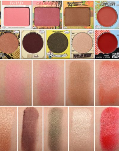 The Balm In theBalm of Your Hand Holiday Face Palette