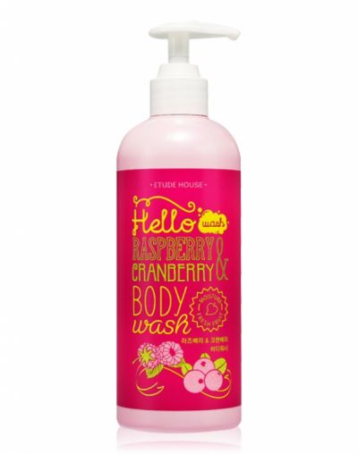 Etude House Hello Raspberry and Cranberry Body Wash