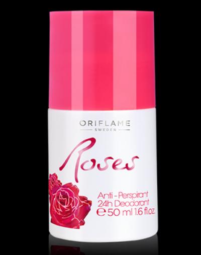 Oriflame Roses Anti Perspirant 24h Deodorant