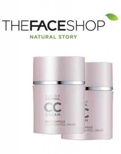 The Face Shop Face it Smart Capsule Color Control CC Cream SPF40++ PA