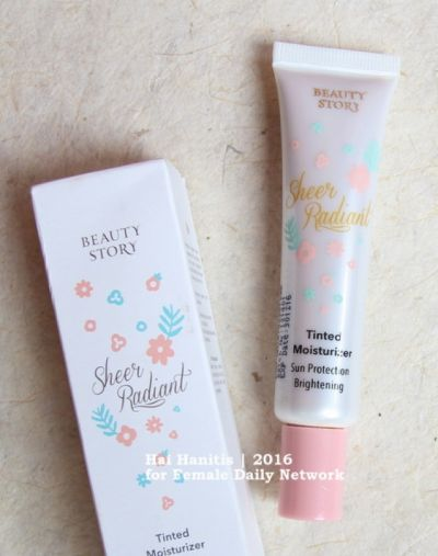 Beauty Story Tinted Moisturizer Sheer Radiant
