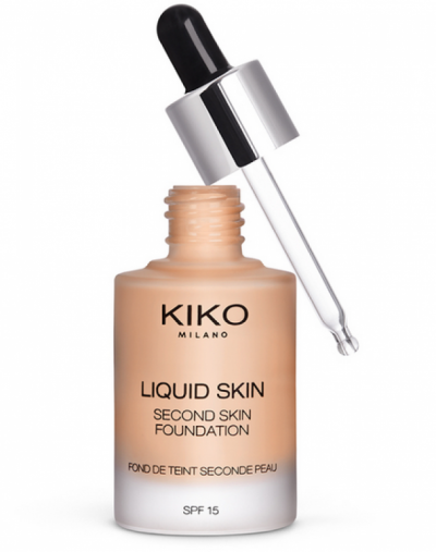 Kiko Milano Second Skin Foundation