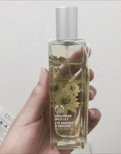 The Body Shop Amazonian Wild Lily Eau De Toilette