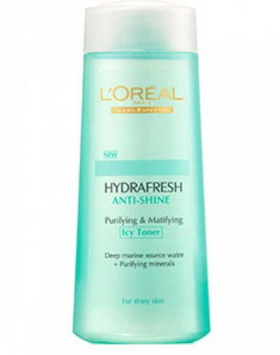 HYDRAFRESH ANTI SHINE PURIFYING & MATTIFYING ICY TONER
