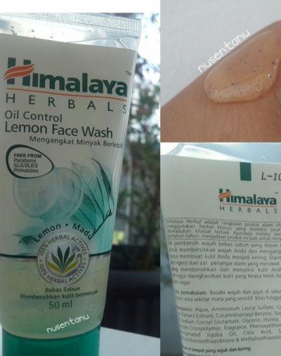 Himalaya Oil Control Lemon Face Wash