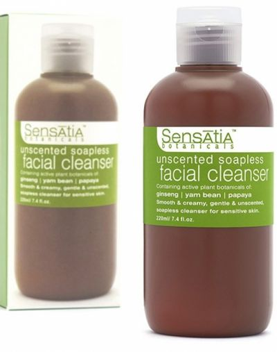 Unscented Soapless Facial Cleanser