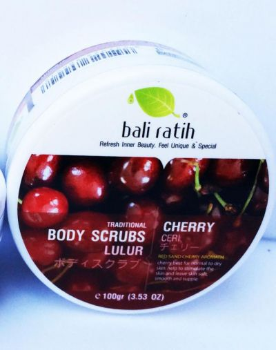 Body Scrubs Cherry