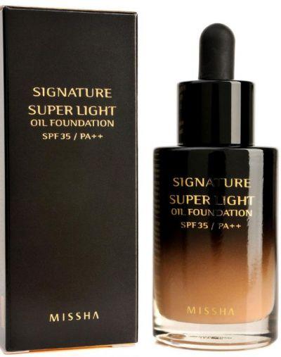 Missha Signature Super Light Oil Foundation