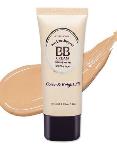 Etude House Precious Mineral BB Cream Cover & Bright Fit