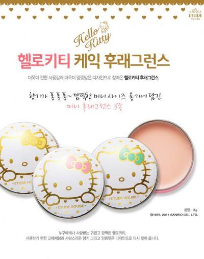 Etude House Hello Kitty mini solid perfume balms