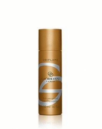Oriflame Giordano gold anti-perspirant 24h deodorant