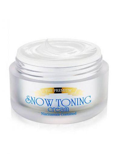 Secret Key Snow white toning cream