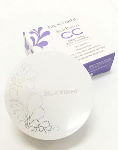 SilkyGirl Skin Perfect CC 2-Way Foundation