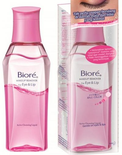 Biore eye makeup remover
