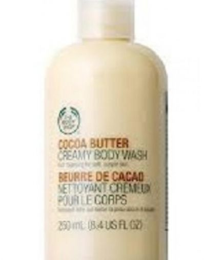 The Body Shop Cocoa Butter Creamy Body Wash