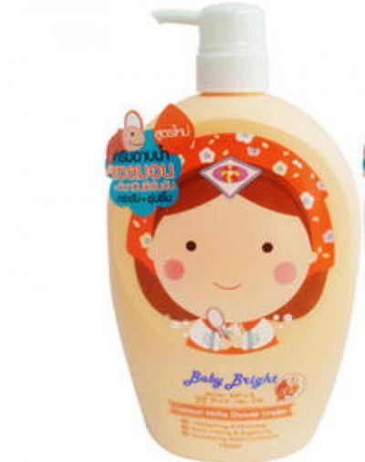 Cathy Doll Baby Bright Salmon White Shower Cream 750ML