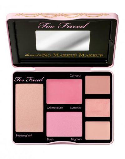 Too Faced The Secret To No Makeup Makeup Palette