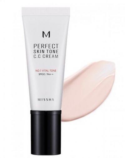 Missha M Perfect Skin Tone CC Cream