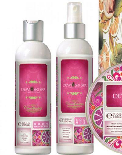 Dewi Sri Spa Body Wash Scrub Citrus Paradisi