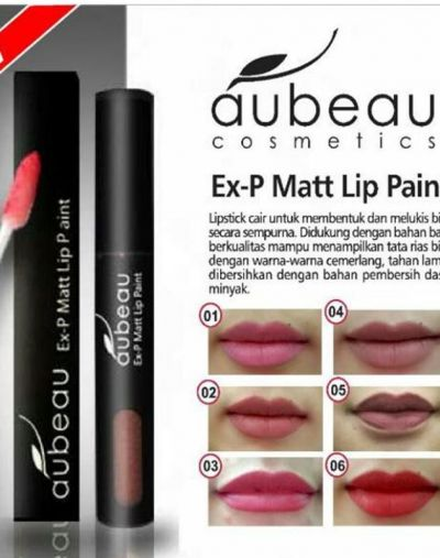Aubeau Ex-P Matt Lip Paint