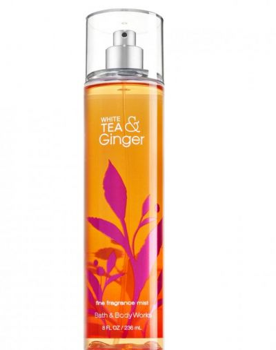 Bath and Body Works White Tea and Ginger