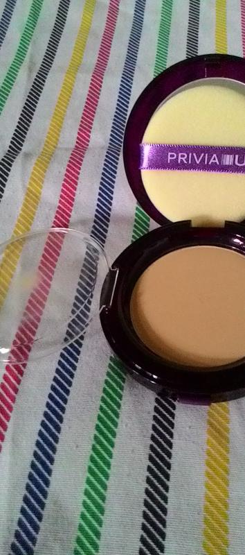 Privia U Privia Illusion Mineral Powder Pact SPF 40