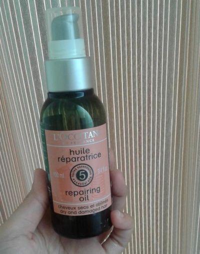 Loccitane Aromachologie Repairing Hair Oil