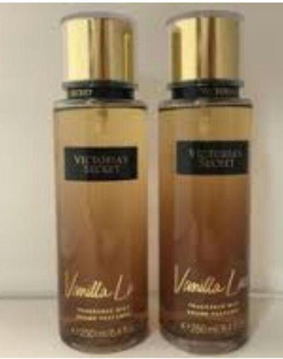 Victorias secret vanilla body spray and most