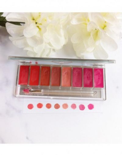 Wardah Pinky Peach Lip Palette