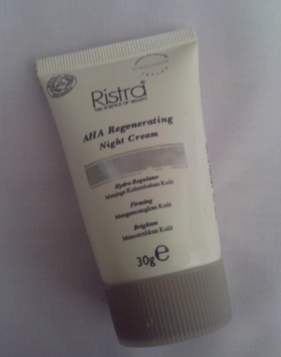 Ristra AHA Regenerating Night Cream