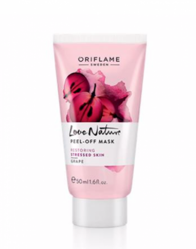 Oriflame Love nature peel-off mask