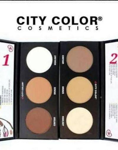City Color City Colour Contour Effects 2