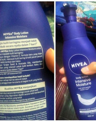 NIVEA Body Lotion Intensive Moisture
