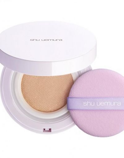 Shu Uemura blanc chroma brightening UV cushion foundation