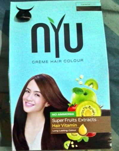 creame hair colour