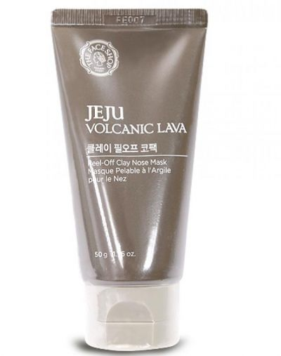 The Face Shop Jeju Volcanic Lava Peel Off Clay Mask